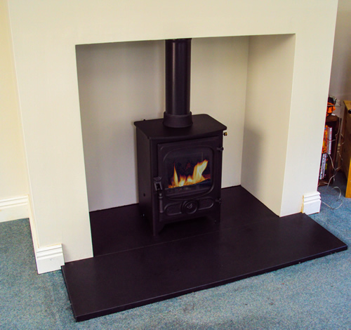 Stone Wood Burning Stove Wood-burning Stove Surround